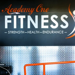 AcademyOne internal gym wall