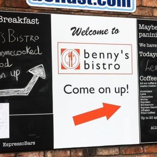 BennysBistro internalchalkboard