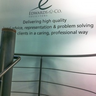 Edwards&Co internal stairwell lettering2