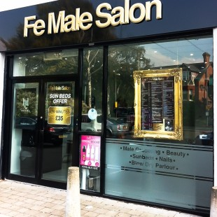 FeMale Salon external sign