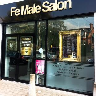 FeMale Salon external sign