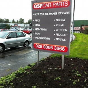 GSF carparts post&panel