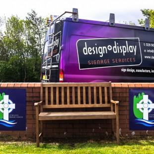 St Ronans School Newry external dibond
