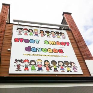 StartSmart daycare external signage