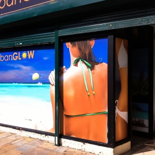 Urban Glow window graphics