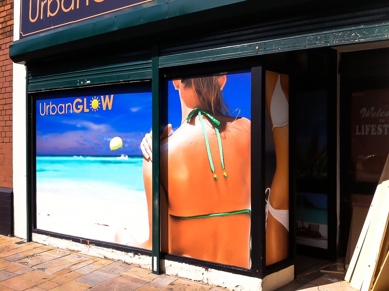 Window graphics signs belfast design display for Window design graphics