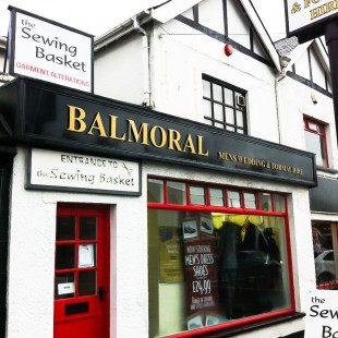 balmoral dress hire