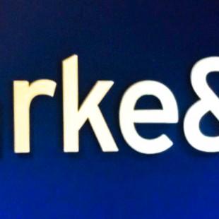 clarke&co internal lettering