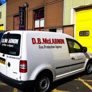 dbmclarnon van caddy