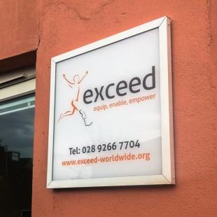 exceed external