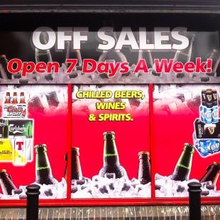 laurelleaf off sales window