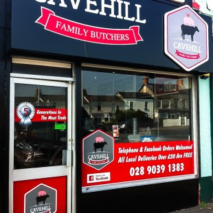 cavehill butchers extsign&windowgraphics