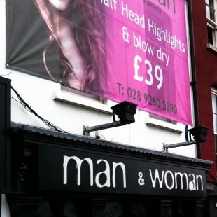 woman lisburn mesh